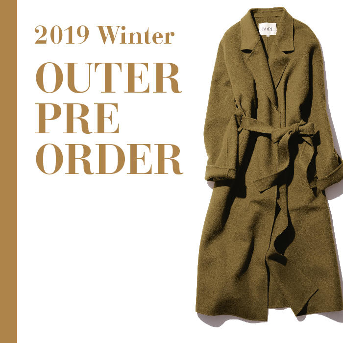 2019Winter OUTER PRE ORDER