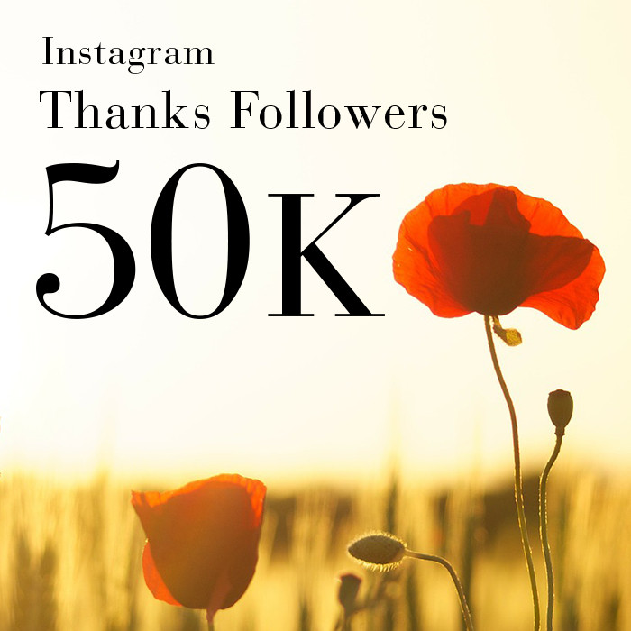 ROPÉ Instagram Thanks Followers 50Kプレゼントキャンペーン!