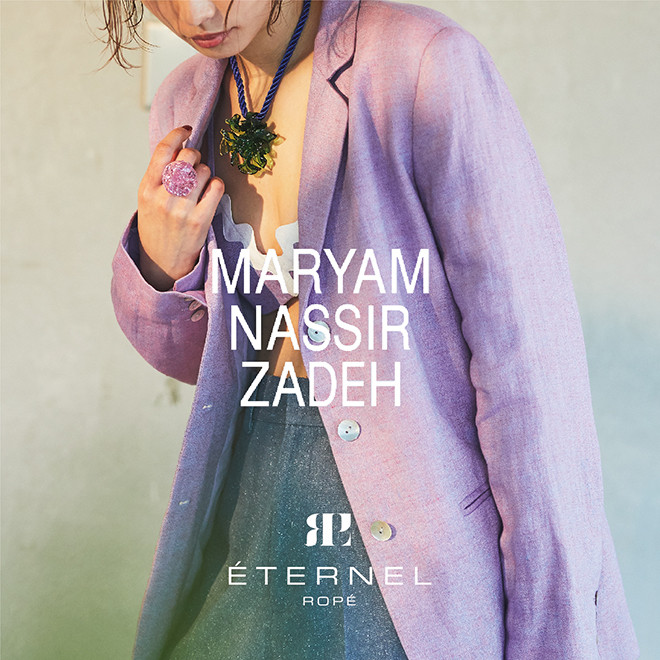 NEW ARRIVALS-MARYAM NASSIR ZADEH
